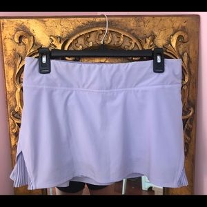 "Lululemon Play Off The Pleats Skirt 13"""